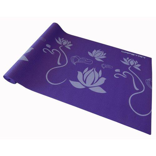 Capetan® |Jógaszőnyeg (173x61x0,5cm , lila színben, mintákkal)