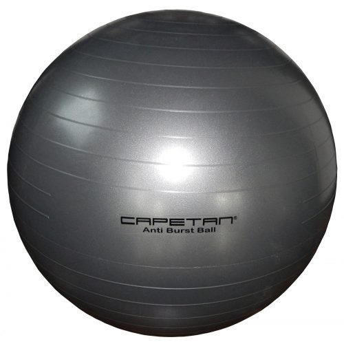 Capetan® Ezüst színű 65cm átm. Anti Burst Durranásmentes gimnasztikai labda