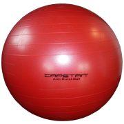 Capetan®  Gimnasztikai labda (durranásmentes, 95cm, piros színű)