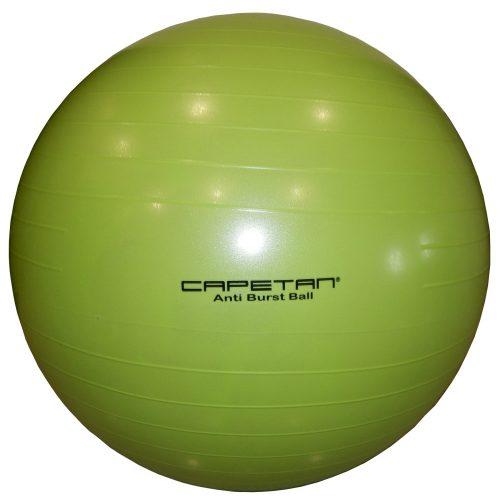 Capetan® | Durranásmentes gimnasztikai labda (75 cm, lime zöld színben)