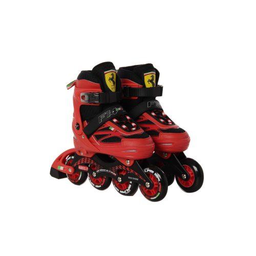 Ferrari® FS4 40-43 méret között állítható fémcsatos görkorcsolya Piros színben
