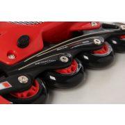 Ferrari® FK7 33-36 méret között állítható kétcsatos gyermek görkorcsolya Piros színben