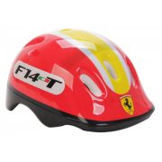 """Ferrari® """"Kiddy"""" bukósisak M méretben - Piros színben rollerhez, gördeszkához vagy görkorcsolyához"""