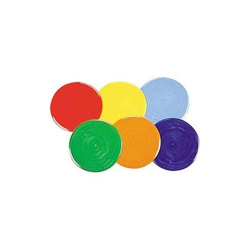 Padlójelölő korong szett nagyméretű 6 színű 25 cm átmérőjű jól tapadó korongokkal,kifutó termék