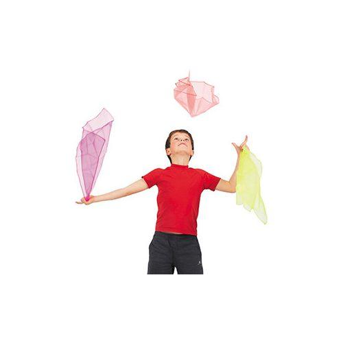 Látványos szurkolói csapatkendő 3db-os szett pink, neonzöld,piros színben