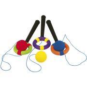 Kapd el a labdát Swing ügyességi játék szett 3 db-os készlet szivacs bevonattal