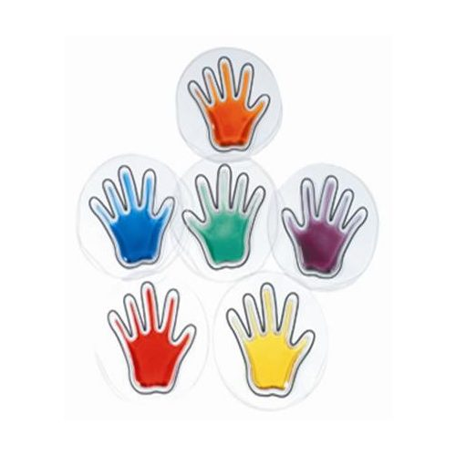 Zselés kéznyomok (6 pár)