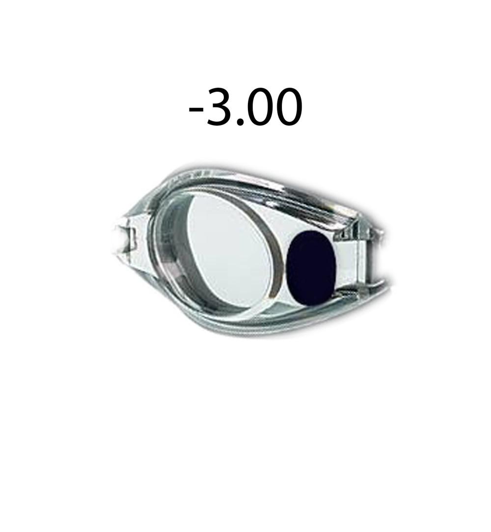 Dioptriás úszószemüveg lencse -3.00 9a4d4295f6