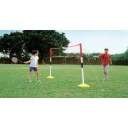 Tollas és teniszháló állvány gyerekeknek (hobbi, tölthető talppal)