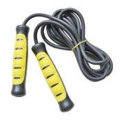 Ugrálókötél (klasszikus modell, csapágyas kivitel,  műanyag ergonómikus markolattal jó húzású kábeles kötéllel)