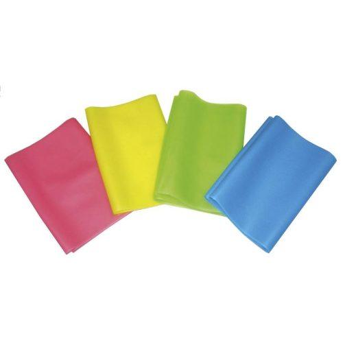 Gumi elasztikus tornaszalag (0,35mm fitband - 30 m-es tekercs, közepes erősség)
