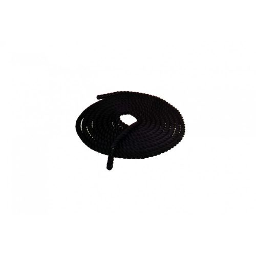 TacticSport   Training kötél funkcionális tréninghez  (9m hosszú 3,75 cm átmérővel, fekete színben)