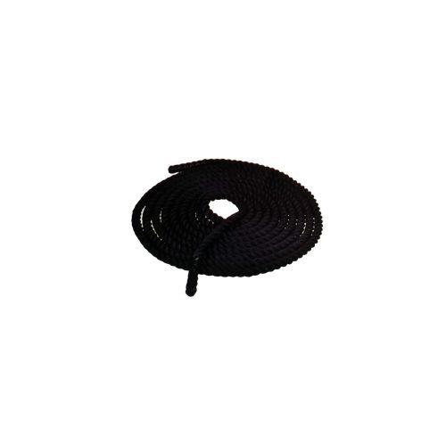 TacticSport | Training kötél funkcionális tréninghez  (9m hosszú 3,75 cm átmérővel, fekete színben)