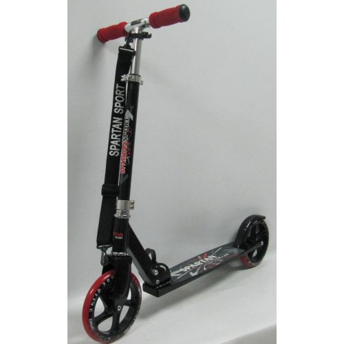 Gigant Wheel | Óriás kerekű roller (200x34mm kerekekkel - gyermek/felnőtt roller állítható oszlop, piros kerék és markolat)