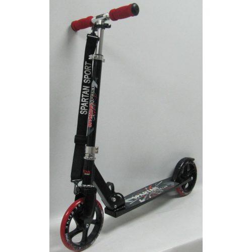 Gigant Wheel   Óriás kerekű roller (200x34mm kerekekkel - gyermek/felnőtt roller állítható oszlop, piros kerék és markolat)