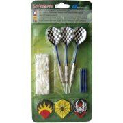 Darts nyíl szett (soft elektromos táblákhoz, 100 hegy, 3 nyél és toll)