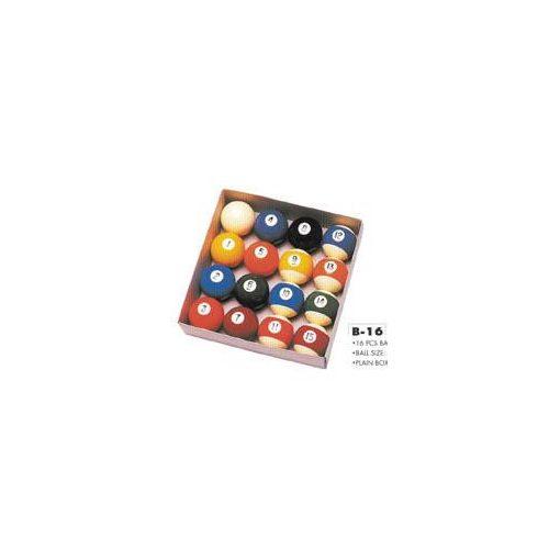 Billiardgolyó szett (58mm átmérővel)