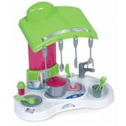 Mini konyha 46*48*31 cm mosogatóval, főzőlappal