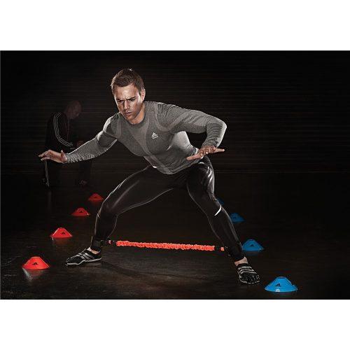 Adidas DBand pánt és elesztikus ellenállás tube edzéssegítő eszköz, a robbanékonyság és gyorsaság fejlesztéshez