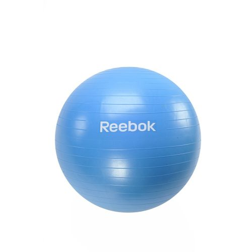 Reebok 65cm gimnasztika labda Cián színben ajándék DVD-vel