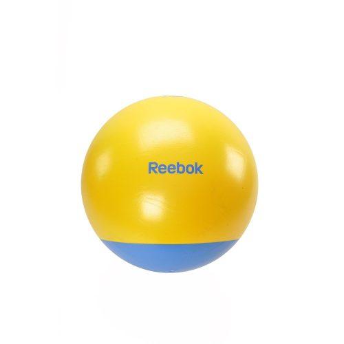 Reebok 75cm átm. sárga-cián színű kéttónusú gimnasztikai labda + DVD