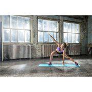 Reebok 173x61x0,4cm világoskék, Love Fitness feliratos tornaszőnyeg