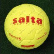 Salta Indoor Star football labda No.5 - teremfoci labda szöszmöszös teniszlabda karakterú felülettel, jól felpattanó, kifutó modell utolsó darab