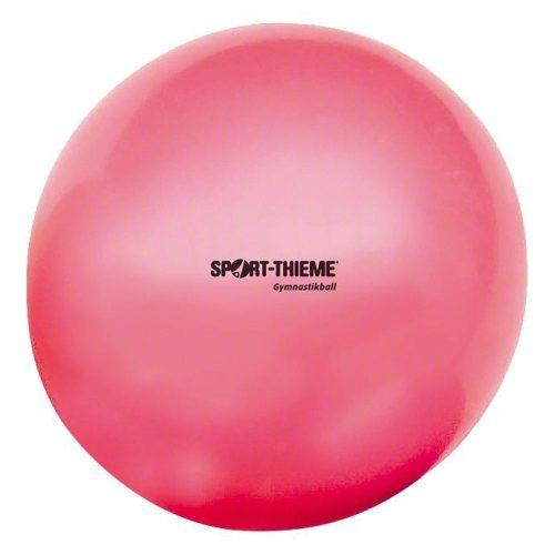 Ritmikus gimnasztika labda gyakorló, csillogó magasfényű, 16 cm átmérőjű, 300gr.súlyú  - pink