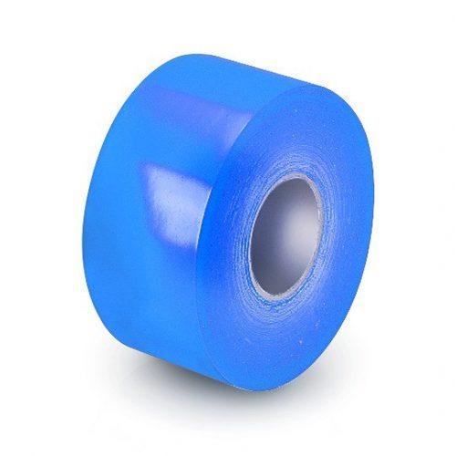 Pályajelölő csík kék, padlóra ragasztható öntapadós