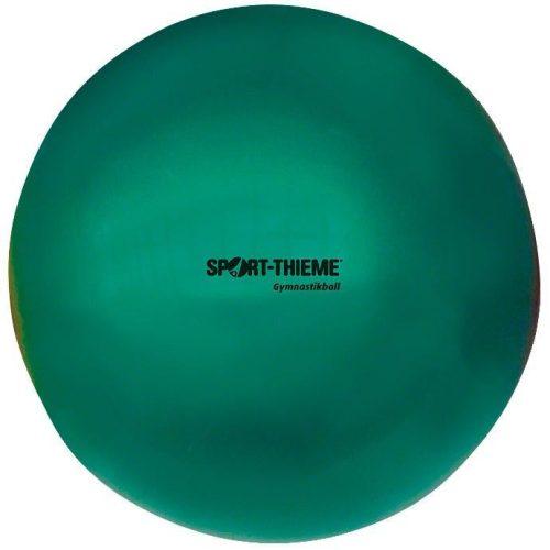 Ritmikus gimnasztika labda gyakorló, csillogó magasfényű, 16 cm átmérőjű, 300gr. súlyú - gyöngyház zöld