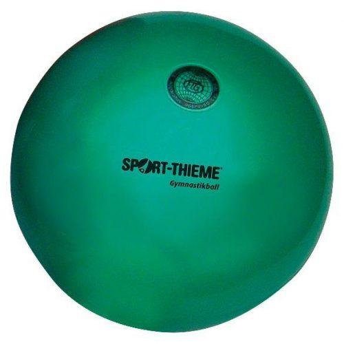 Ritmikus gimnasztika versenylabda, gyöngyház magasfényű, 19 cm, 420gr. - zöld