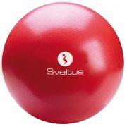 Sot Ball, Overball Sveltus, pilates  torna labda 25 cm piros
