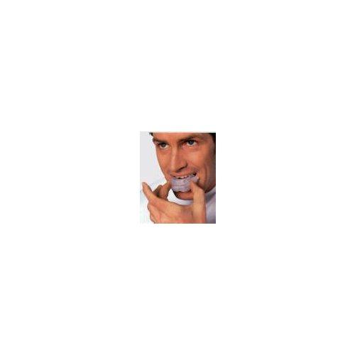 Boksz 2 soros fogvédő (műanyag dobozban, meleg vízes, fogsorra formázható fogvédő)