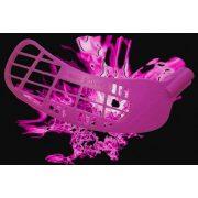 Pink Pearl | Floorball ütő (IFF jóváhagyott grippes verseny ütő fekete árnyalat 2016 évi verseny modell 96/108 cm jobbra ívelő fejjel)