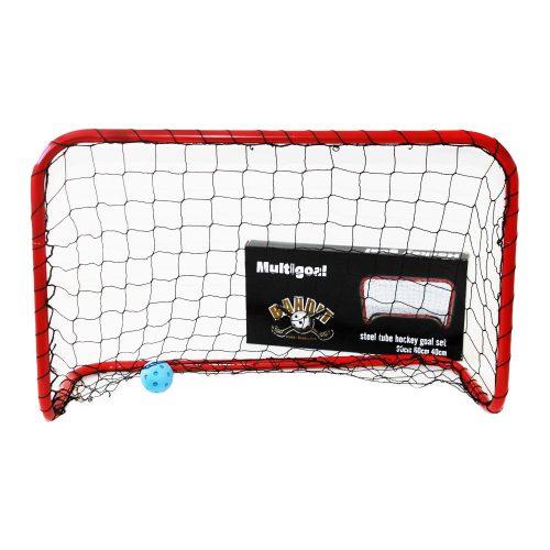 Bandit   Foci- és floorball kapu (multisport,  90x60x40 cm , kisméretű könnyen hordozható kapu hálóval)