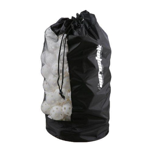 Többfunkciós tartó zsák (floorball labdák és nagyobb könnyű softball labdák tárolásásra is alkalmas)