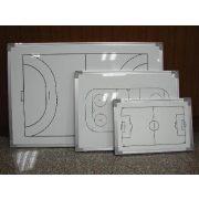 TacticSport | Röplabda taktikai tábla (30x45 cm alumínium, írható, törölhető, mágneses, röplabda taktikai mágnestábla, közepes méret)