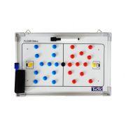 TacticSport   Floorball taktikai tábla (30x45cm, mágneses, alumínium, írható törölhető, közepes méret)