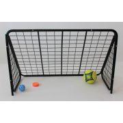 Focikapu (110x70x50 cm, masszív svéd fém football kapu)
