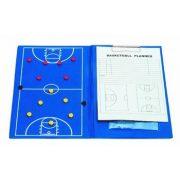 Mágneses taktikai mappa kosárlabdához (A/h clippes írótömbbel)