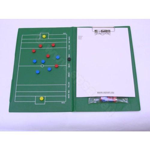 TacticSport | Vízilabda taktikai tábla (mágneses,  A/4méret pvc bevonattal)