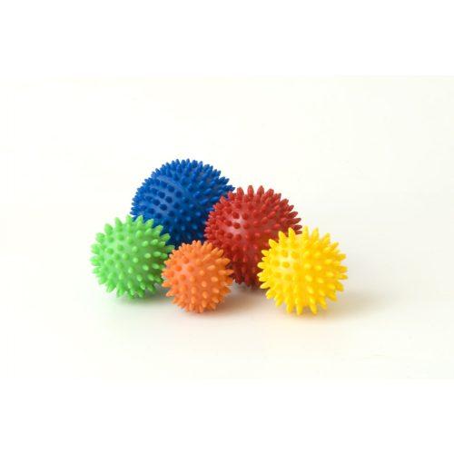 Masszázslabda (7 cm átmérővel, zöld színben)
