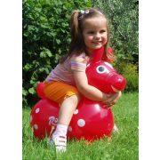 Cavallo Rody   Ugráló állat gyerekjárék - lovacska piros színben