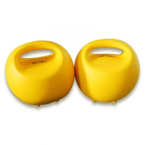 Vízzel tölthető műanyag súlyzó (2db training bowl)