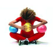 Soft Ball   Puha tornalabda, body ball (kék vagy sárga színben)