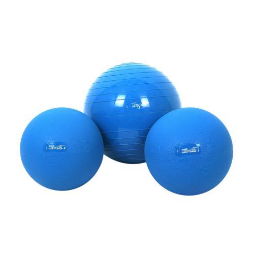Gymnic Medball | Medicinlabda (1kg, 23 cm, vízfelszínen úszó, gumi, levegőtöltetes medicinlabda)