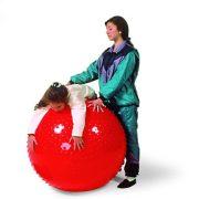 Gymnic   Rücskös felületű masszázslabda (65 cm - therasensory labda menta zöld színben)