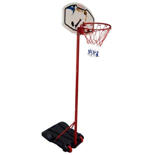 TacticSport SmartKid   Kosárlabda állvány (160 - 210cm között állítható magasságú tölthető talpú mozgatható streetball állvány palánkkal)