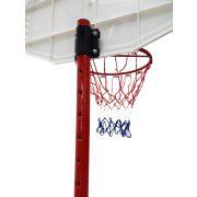 TacticSport SmartKid | Kosárlabda állvány (160 - 210cm között állítható magasságú tölthető talpú mozgatható streetball állvány palánkkal)