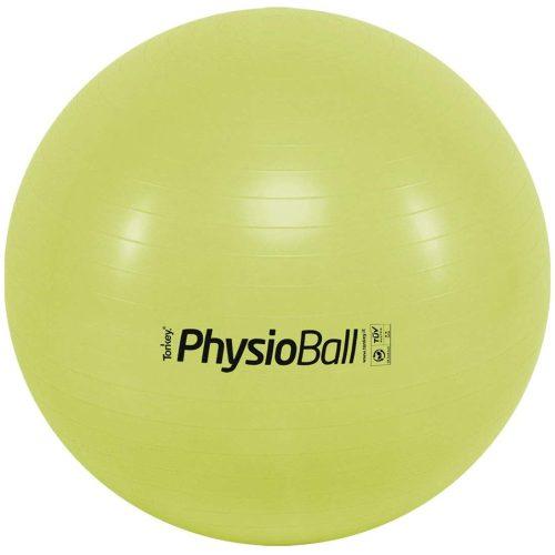 Fitball gimnasztika labda maxafe, 65 cm - banánzöld, ABS biztonsági anyagból, 100 kg testsúly felett is megfelelő